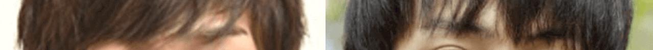 横浜流星と橋岡優輝の眉比較