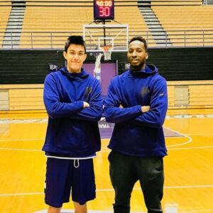 渡邉飛勇とポートランド大のバスケチームメイト