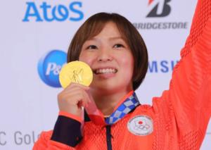 東京五輪の金メダル記者会見の川井友香子