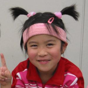 5歳のときの平野美宇