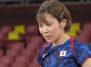 東京五輪の初戦の平野美宇