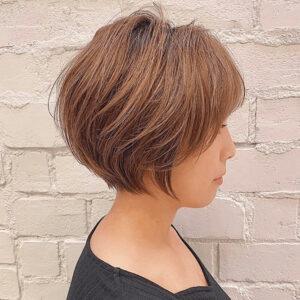 川井友香子の髪型