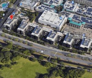 パークレーン・アラモアナの航空写真