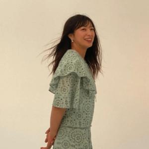 変身メイク後のモデル川井友香子