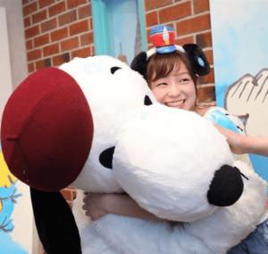 スヌーピーと川井友香子