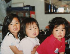 幼少期の川井三姉妹