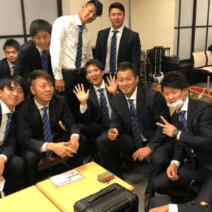 中田翔選手と同僚・後輩達